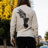 IMAGE   Angel Of Death Long Sleeve Shirt (Natural) - detail 2