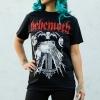 IMAGE | Profane Skull T-Shirt (Black) - detail 3