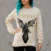 IMAGE   Angel Of Death Long Sleeve Shirt (Natural) - detail 5