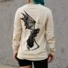 IMAGE   Angel Of Death Long Sleeve Shirt (Natural) - detail 4