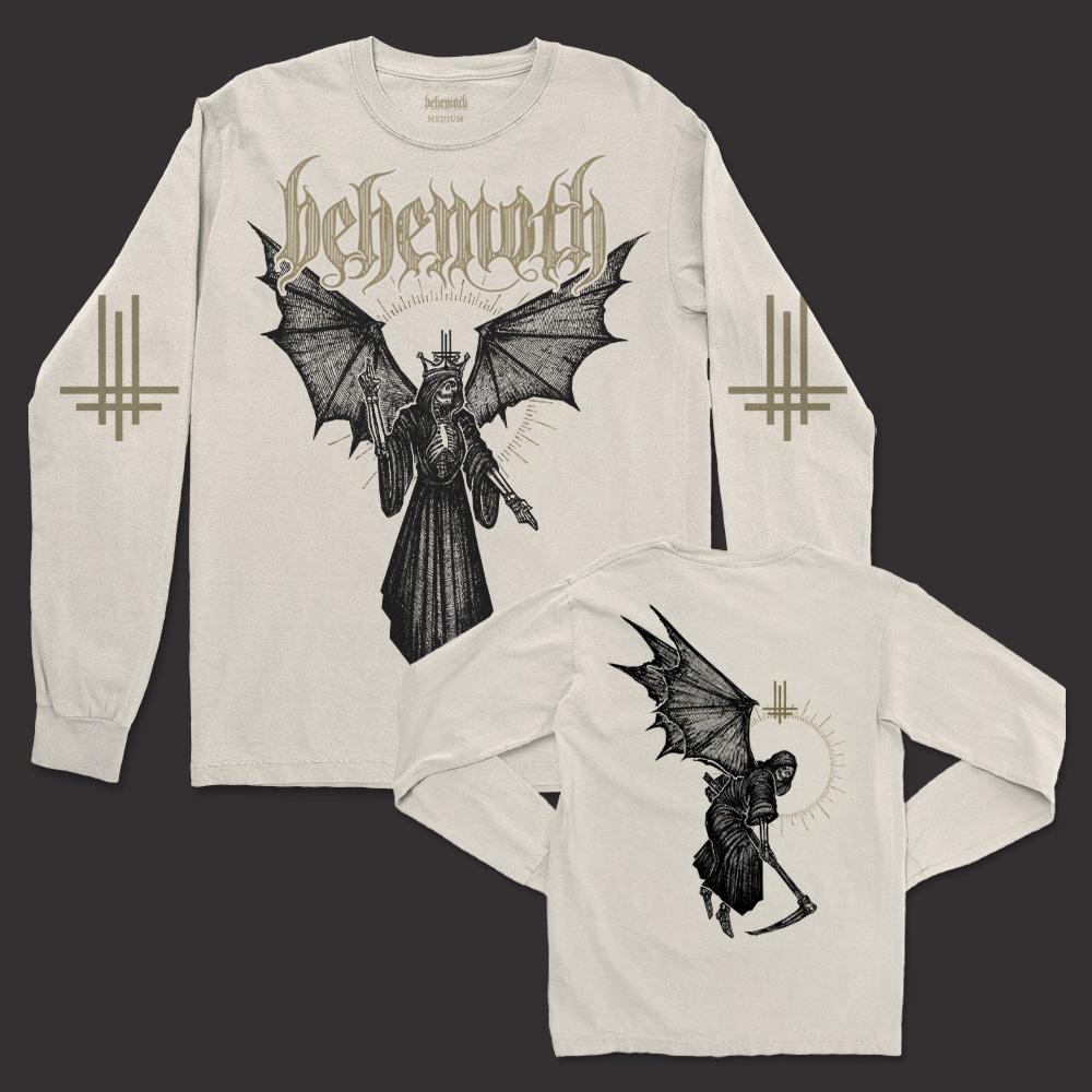 IMAGE   Angel Of Death Long Sleeve Shirt (Natural)