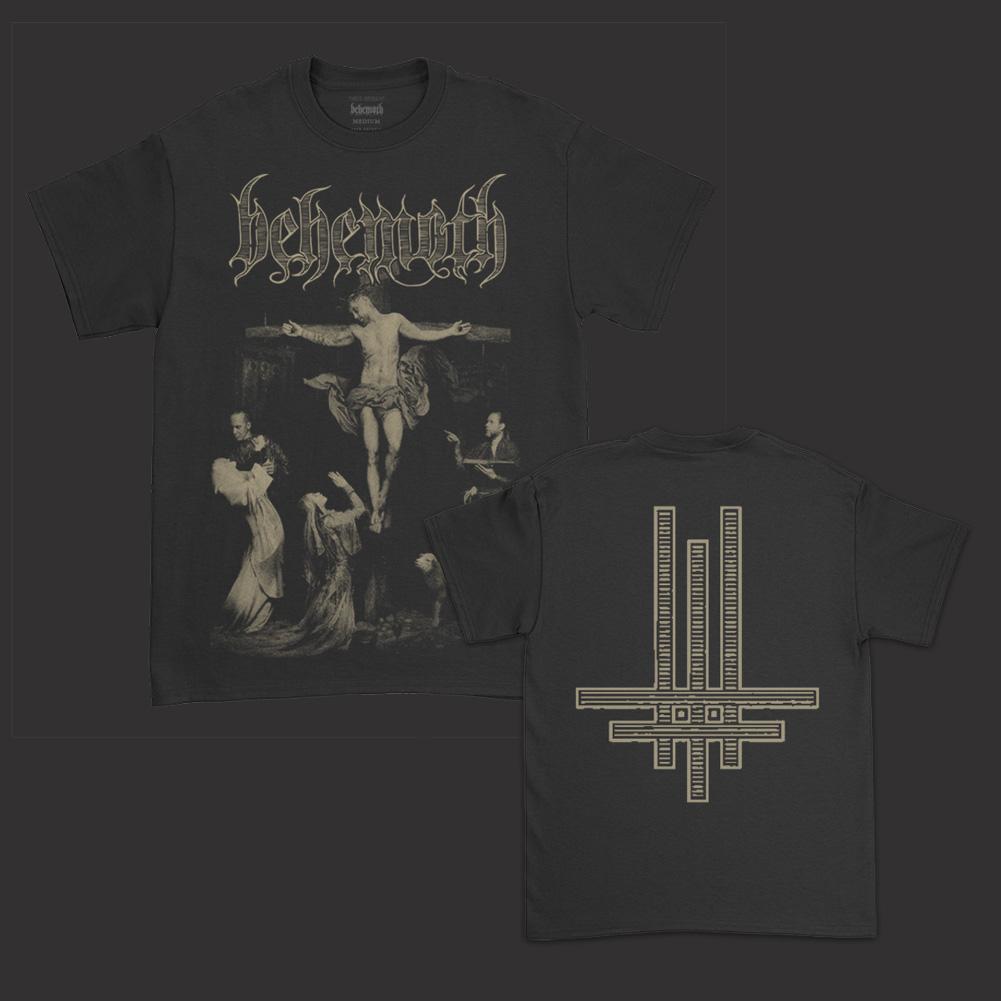 IMAGE   Say Your Prayers Inlay T-Shirt (Black)