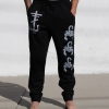 IMAGE | Scorpion Cross Sweatpants (Black) - detail 3