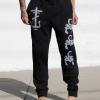 IMAGE | Scorpion Cross Sweatpants (Black) - detail 2