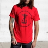 IMAGE | Barbed Wire Cross T-Shirt (Red) - detail 2