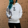 IMAGE | Bloody Nose Pullover Hoodie (White) - detail 2