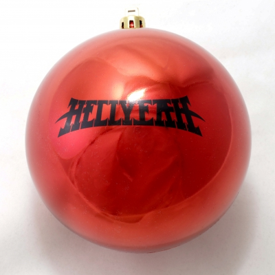 Logo Ornament (Red)