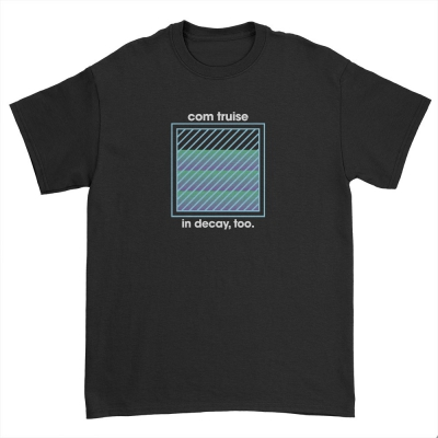 In Decay, Too Square T-Shirt (Black)