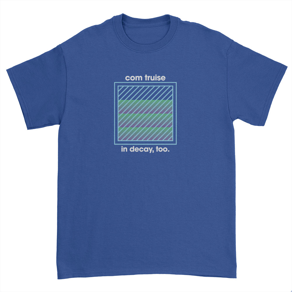 IMAGE   In Decay, Too Square T-Shirt (Blue)