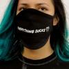 IMAGE   Everything Sucks Face Mask (Black) - detail 3