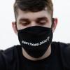 IMAGE   Everything Sucks Face Mask (Black) - detail 2