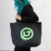 IMAGE   Spray Logo Oversized Tote Bag - detail 2