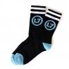 IMAGE | Logo Socks (Black/Blue) - detail 2