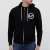 IMAGE   Smell the Magic Zip Up Hoodie (Black) - detail 3
