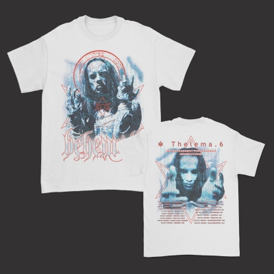 Thelema.6 EU Tour T-Shirt (White)