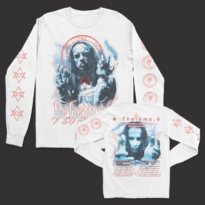 Thelema.6 EU Tour Long Sleeve (White)