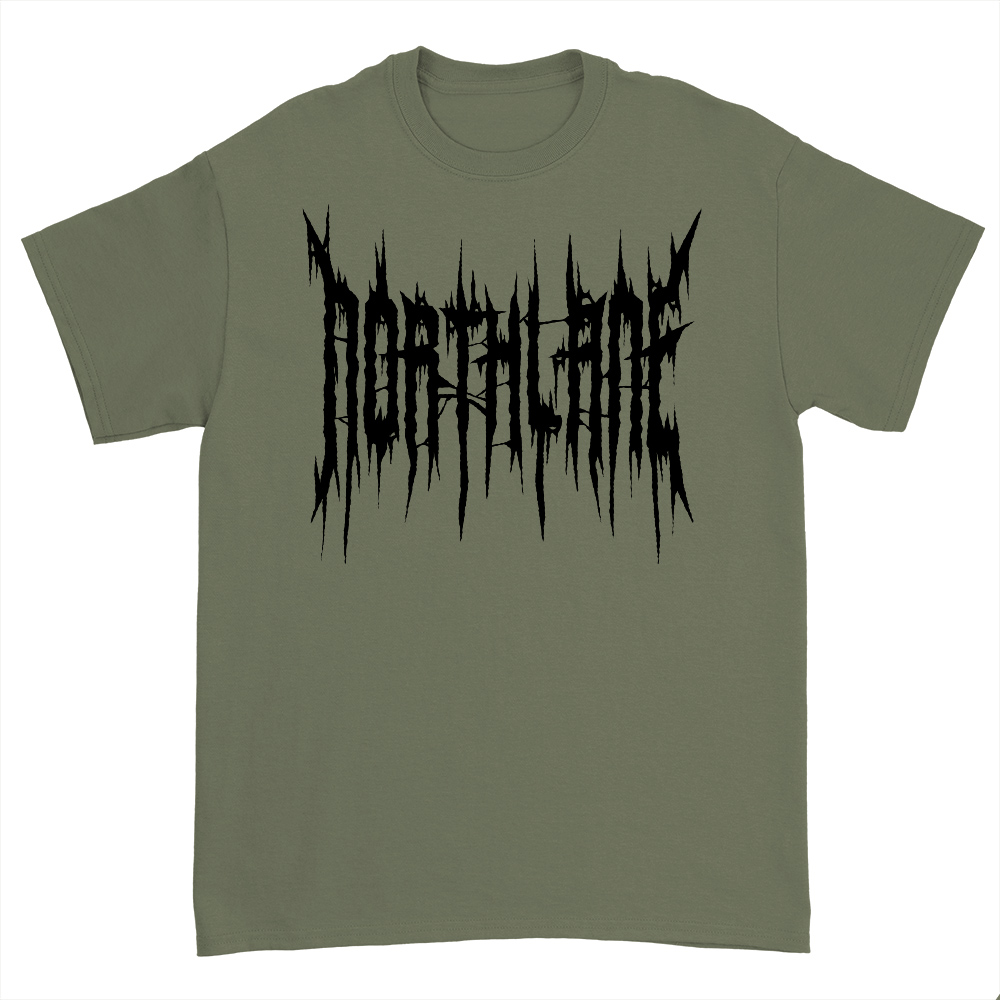 IMAGE | Death Metal T-Shirt (Military Green)
