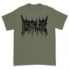 IMAGE | Death Metal T-Shirt (Military Green) - detail 1