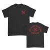 IMAGE | Monogram T-Shirt (Black) - detail 1