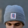 IMAGE | Twisted Snake Beanie (Light Grey) - detail 2