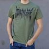 IMAGE | Death Metal T-Shirt (Military Green) - detail 2