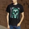 IMAGE | Green Enemy T-Shirt (Black) - detail 2