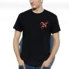 IMAGE | Monogram T-Shirt (Black) - detail 2