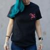 IMAGE | Monogram T-Shirt (Black) - detail 4