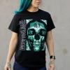 IMAGE | Green Enemy T-Shirt (Black) - detail 3