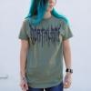 IMAGE | Death Metal T-Shirt (Military Green) - detail 3