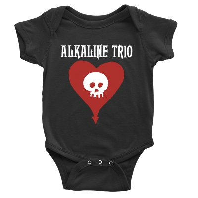 Heartskull Onesie (Black)
