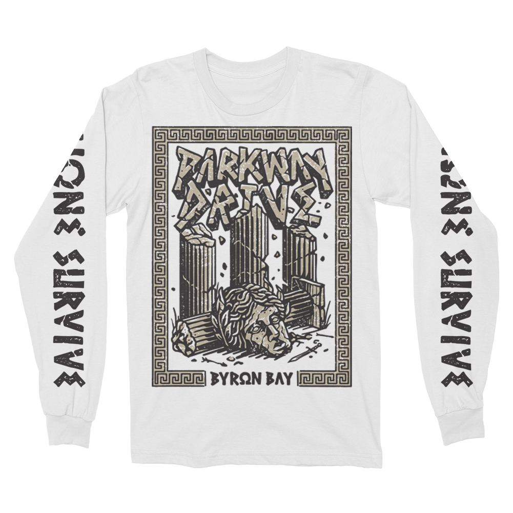 IMAGE | None Survive Long Sleeve (White)