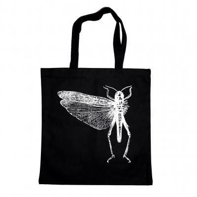 Classic Bug Tote Bag (Black)