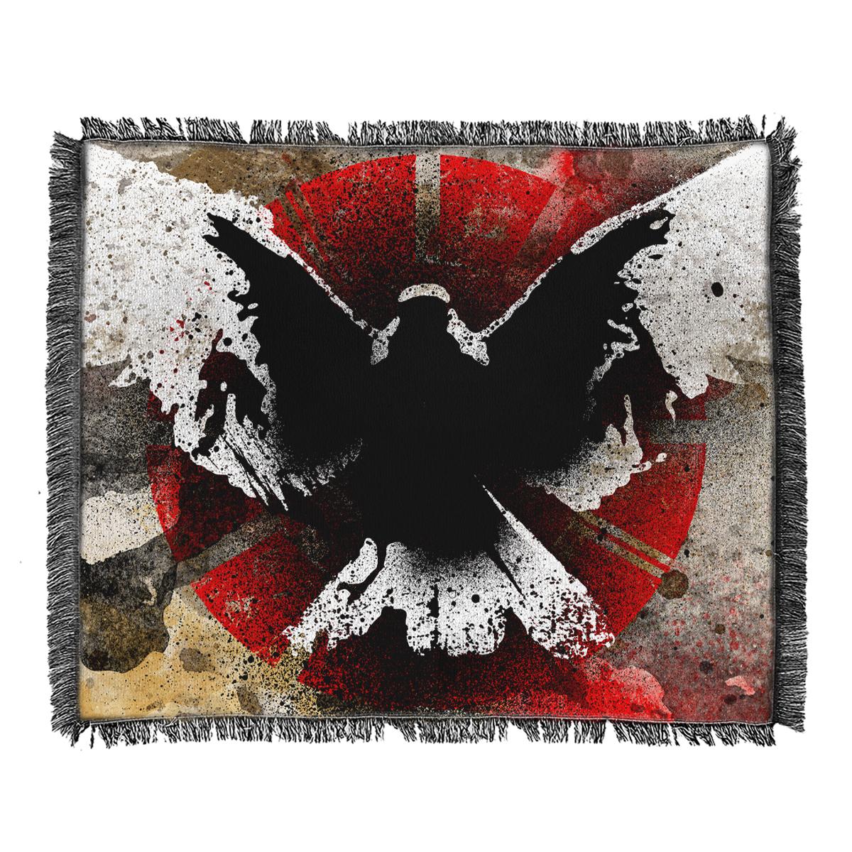IMAGE   No Heroes Woven Blanket