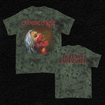 Violence Unimagined T-Shirt (Moss Dye)