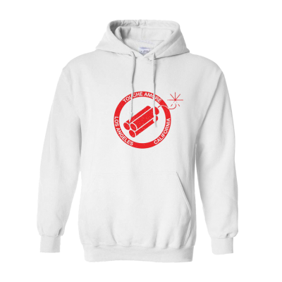Bomb Pullover Hoodie (White)