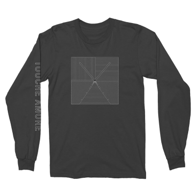 Lined Logo Long Sleeve (Black)