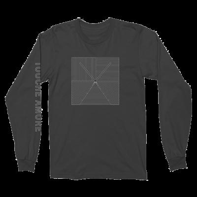 IMAGE | Lined Logo Long Sleeve (Black)