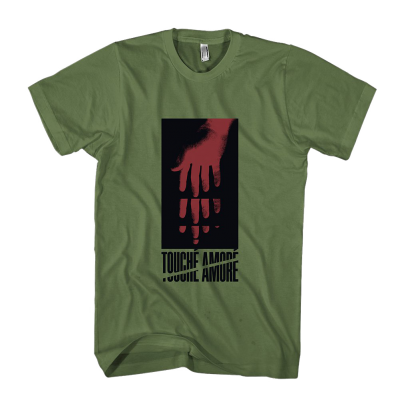 Hand Reach Tee (Army Green)