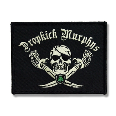 Jolly Roger Pirate Patch (Black)