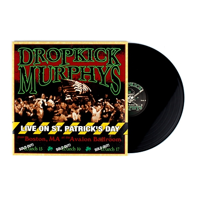 Live on St. Patrick's Day 2xLP (Black)