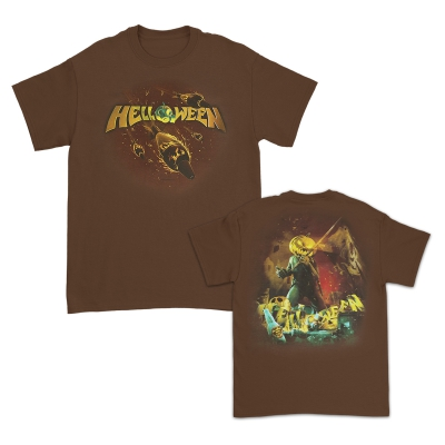 Straight Out Of Hell T-Shirt (Brown)