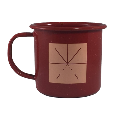 IMAGE | Campfire Enamel Mug
