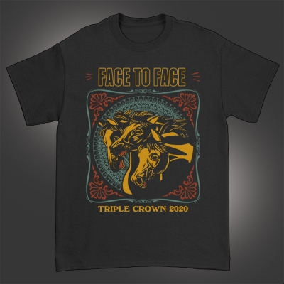 2020 Triple Crown Livestream T-Shirt (Black)