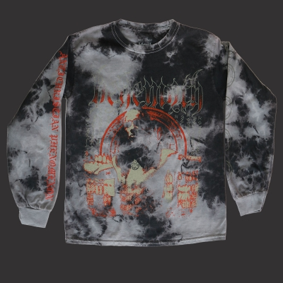 Anti-Christian Long Sleeve (Bleach Dye/Black)