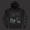 IMAGE   Anti-Christian Zip-Up Sweatshirt (Black) - detail 1