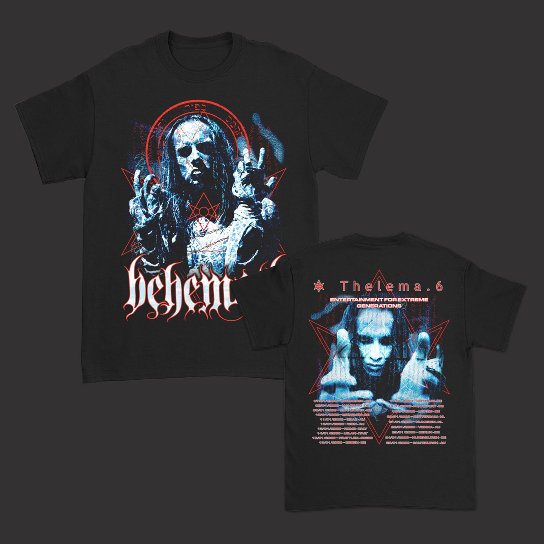 IMAGE   Thelema.6 EU Tour T-Shirt (Black)