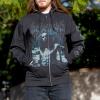 IMAGE   Anti-Christian Zip-Up Sweatshirt (Black) - detail 2