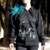 IMAGE   Anti-Christian Zip-Up Sweatshirt (Black) - detail 3