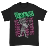 IMAGE   Turn Up That Dial Skelly Piper Tee (Black) - detail 1